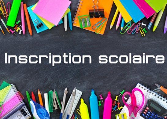 INSCRIPTIONS RENTREE SCOLAIRE 2021-2022